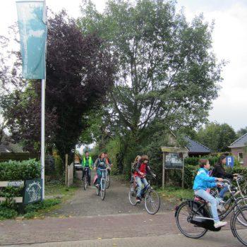 fietsen bij de Broeksehoeve