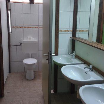 sanitair bij de Broeksehoeve