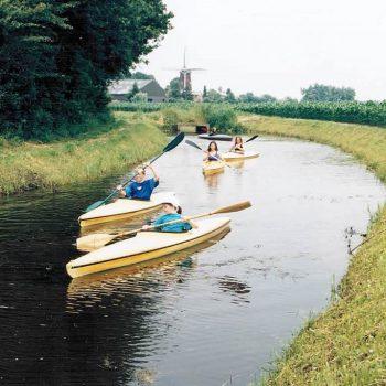 kanovaren bij de Broeksehoeve